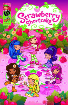 Strawberry Shortcake Digest Berry Fun Collection by Georgia Ball, Amy Mebberson, Tanya Roberts