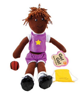 Basketball Girl Kate Doll by Jodi Norgaard