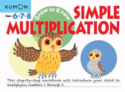 Simple Multiplication by Kumon Publishing