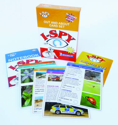 Michelin i-SPY Guides i-SPY Out and About Cards Collecton by i-SPY