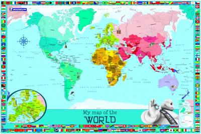 My Map of the World by Michelin