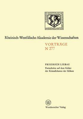 Natur-, Ingenieur- und Wirtschaftswissenschaften by F. Liebau