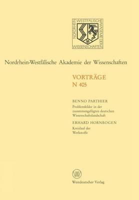 Nordrhein-Westfalische Akademie der Wissenschaften by Benno Parthier