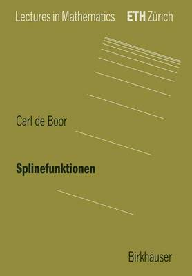 Splinefunktionen by Carl De Boor
