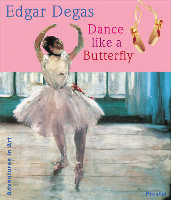 Edgar Degas Dance Like a Butterfly by Angela Wenzel
