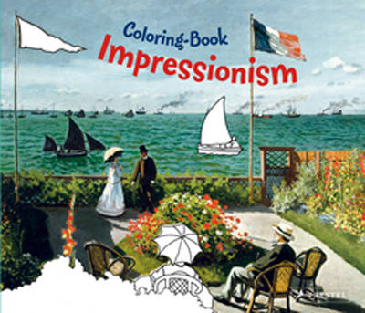 Impressionism Coloring Book by Doris Kutschbach
