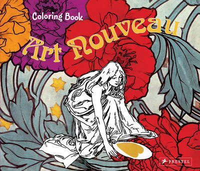 Art Nouveau Colouring Book by Rahel Goldner