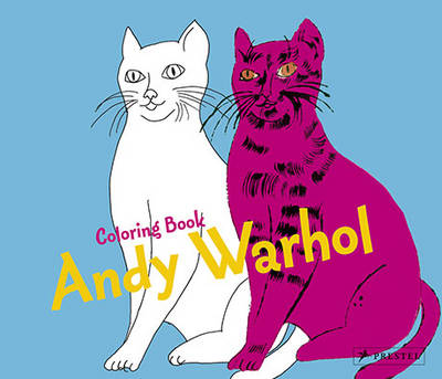 Coloring Book Andy Warhol by Prestel