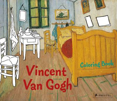 Coloring Book Vincent Van Gogh by Prestel Publishing