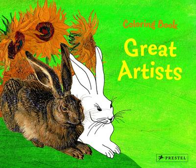 Great Artists Coloring Book by Annette Roeder
