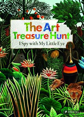 The Art Treasure Hunt I Spy With My Little Eye by Doris Kutschbach