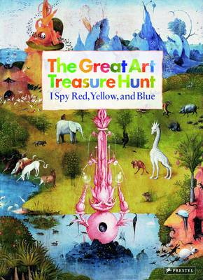 The Great Art Treasure Hunt I Spy Red, Yellow and Blue by Doris Kutschbach