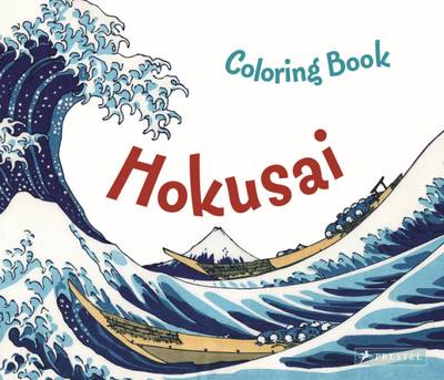 Hokusai Colouring Book by Marie Krause