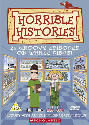 Horrible Histories 26 Groovy Episodes by