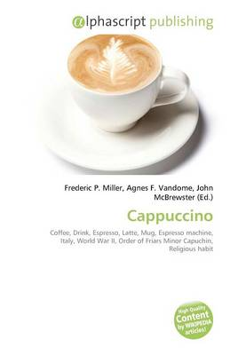 Cappuccino by Frederic P. Miller, Agnes F. Vandome, John McBrewster
