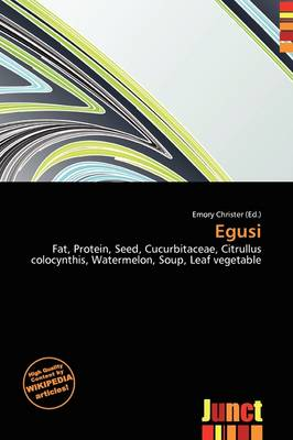 Egusi by Emory Christer