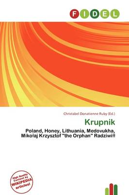 Krupnik by Christabel Donatienne Ruby