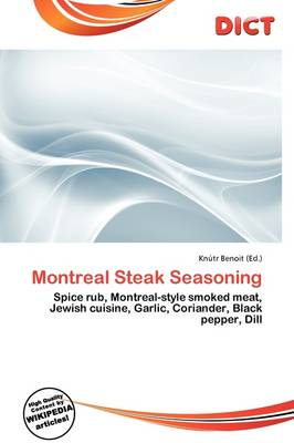 Montreal Steak Seasoning by Kn Tr Benoit