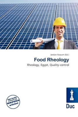 Food Rheology by Jordan Naoum