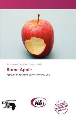 Rome Apple by Bartholomei Timotheos Crispinus