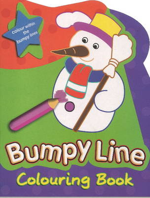 Bumpy Line Colouring Book by Sterling Publishers