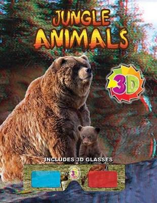 Jungle Animals (3D) by Sterling Publishers