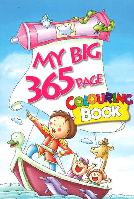 My Big 365 Page Colouring Book by