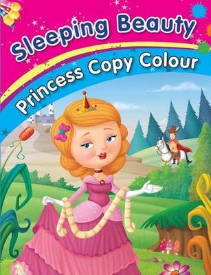 Sleeping Beauty Colouring Book by Pegasus