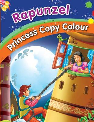 Rapunzel Colouring Book by Pegasus