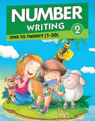 Number Writing 2 One to Twenty (1 to 20) by Pegasus