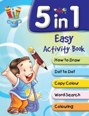 5 in 1 Easy Activity Book by Pegasus