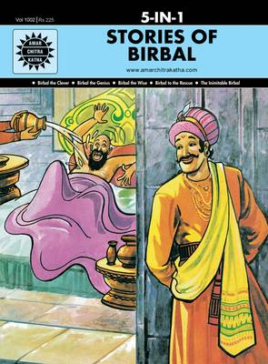 Stories of Birbal WITH Birbal the Genius 5-In-1 by Anant Pai