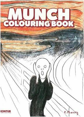 Munch Colouring Book by Niklas Brox