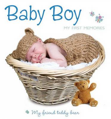 My First Steps with Teddy Bear Baby Boy by