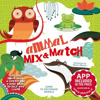 Animal Mix and Match Memory Game by Agnese Baruzzi