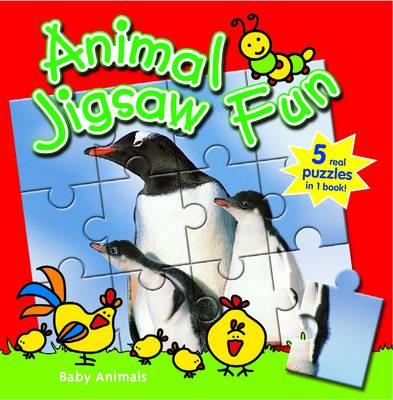 Farm Animals: Animal Jigsaw Fun by Yoyo Books
