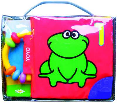 Soft Book Frog by