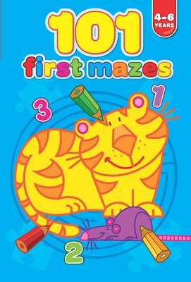 101 First Mazes 4-6 Years by