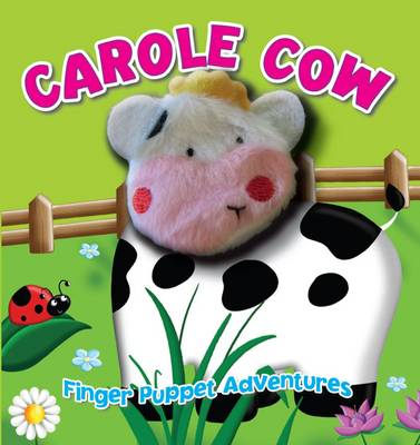 Fingerpuppet Block Cow by