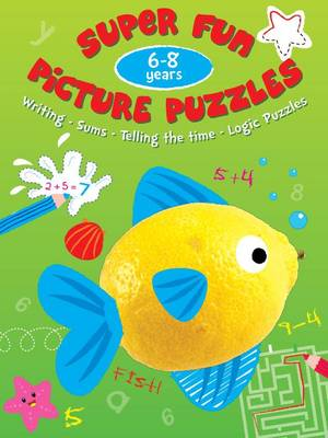 Picture Puzzle Fun 6-8 Years by