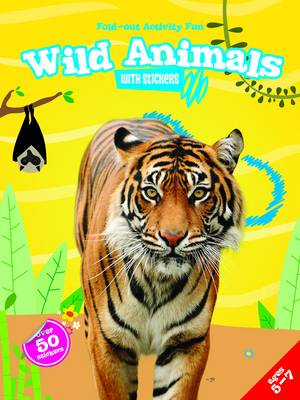 My Fold-Out Activity Fun: Wild Animals by