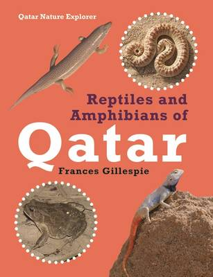 Reptiles and Amphibians of Qatar by Gillespie Frances