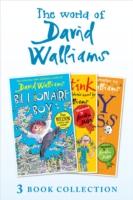 World of David Walliams 3 Book Collection (The Boy in the Dress, Mr Stink, Billionaire Boy) by David Walliams