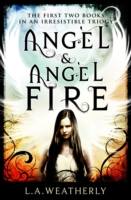 Angel and Angel Fire - two book set by L.A Weatherly