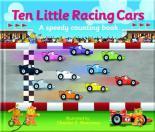 Ten Little Racing Cars by Kate Thomson, Charles Reasoner