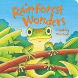 Rainforest Wonders (A Sparkling Slide Book) by Erin Ranson and Hannah Wood