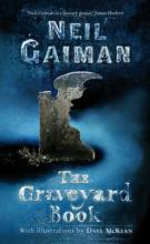 The Graveyard Book (illustrated by Dave Mckean) by Neil Gaiman