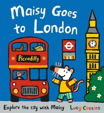 Maisy Goes to London by Lucy Cousins