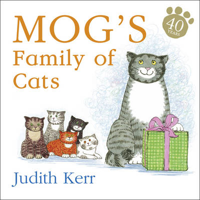 Mog's Family of Cats (Board book) by Judith Kerr
