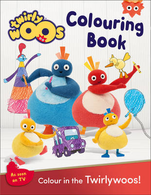 Twirlywoos Colouring Book by